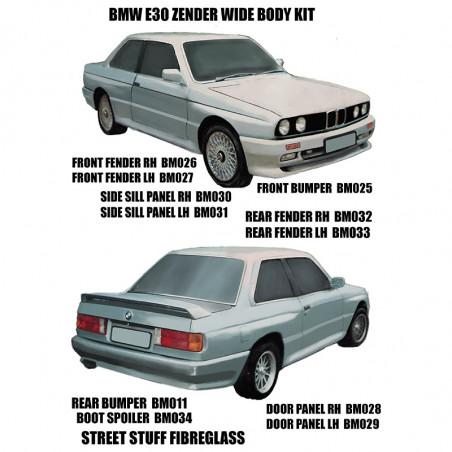 BMW E30 M3 ZENDER WIDE BODY...