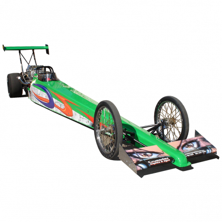GREEN TOP FUEL DRAGSTER