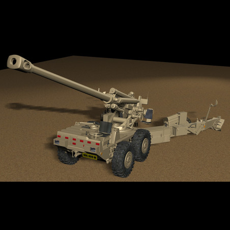 DENEL G5 155mm HOWITZER 3D...