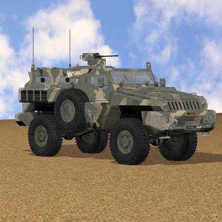 MARAUDER APC 3D MODEL