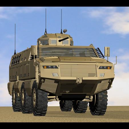 PARAMOUNT MBOMBE 6X6 AFV 3D...