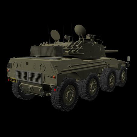 DENEL ROOIKAT AFV 3D MODEL