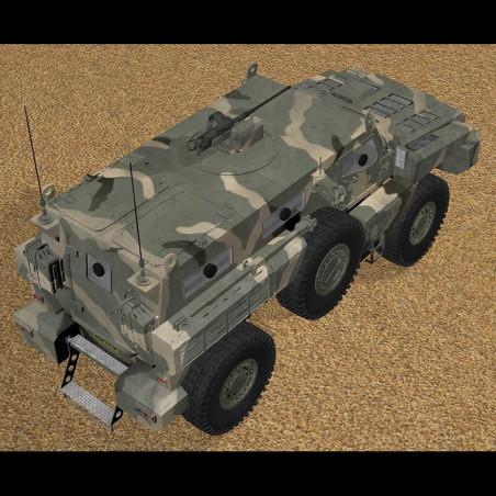 ARLAN MARAUDER AFV 3D MODEL