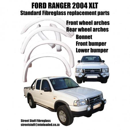 FORD RANGER 2004 REAR...